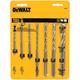 Dewalt DW5207 7-Piece Rock Carbide and Percussion Drill Bit Set