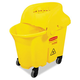 Rubbermaid 759088YEL WaveBrake 8-3/4 Gallon Institutional Bucket/Strainer Combo (Yellow)