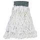 Rubbermaid T300 Clean Room Medium Loop-End Rayon Mop Head (White) (12-Pack)