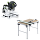 Festool C1495315 Kapex Sliding Compound Miter Saw plus Multi-Function Work Table