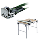 Festool C21495315 Domino Domino Mortise and Tenon Joiner Set plus Multi-Function Work Table