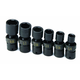 SK Hand Tool 32300 6-Piece 1/4 in. Drive Swivel SAE Impact Socket Set