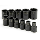 SK Hand Tool 4031 11-Piece 1/2 in. Drive 6-Point Standard SAE Impact Socket Set