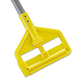 Rubbermaid H145 54 in. Invader Fiberglass Side-Gate Wet Mop Handle (Gray/Yellow)