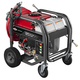 Briggs & Stratton 20542 3,300 PSI 3.2 GPM Gas Pressure Washer with Key Electric Start & 4-Wheel Design