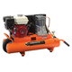 Industrial Air CT5590816 Contractor 5 HP 8 Gallon Oil-Lube Twin Tank Wheelbarrow Air Compressor with Honda Engine
