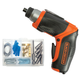 Black & Decker BDCS40BI 4V MAX Cordless Lithium-Ion Pivoting Screwdriver