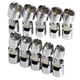 SK Hand Tool 3910 10-Piece 3/8 in. Drive 6-Point Flex Metric Socket Set