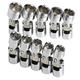 SK Hand Tool 3910 10-Piece 3/8 in. Drive 6-Point Flex Metric Socket Set