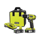 Factory Reconditioned Ryobi ZRP818 18V ONE Plus Lithium-Ion 1/2 in. Cordless Drill Driver Kit (1.3 Ah)