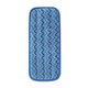 Rubbermaid Q820BLU 6-Piece 13-3/4 in. Microfiber Wall/Stair Wet Mopping Pad (Blue)