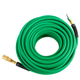 Hitachi 115159 1/4 in. x 100 ft. Hybrid Hose with Industrial Fittings (Green)