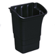 Rubbermaid 335388BLA 8 Gal. Optional Utility Cart Refuse Bin (Black)