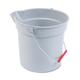 Rubbermaid 296300GY 10 Quart Plastic Utility Pail (Gray)