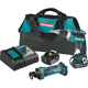 Makita XT255MB LXT 18V 4.0 Ah Cordless Lithium-Ion Brushless Drywall Screwdriver and Cut-Out Tool Combo Kit