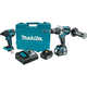 Makita XT257MB LXT 18V 4.0 Ah Cordless Lithium-Ion Brushless Hammer Driver Drill and Impact Driver Combo Kit