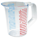 Rubbermaid 3215CLE 16 oz. Bouncer Measuring Cup (Clear)