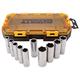Dewalt DWMT73814 10-Piece Stackable 1/2 in. Deep Drive Socket Set (SAE)