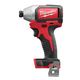 Factory Reconditioned Milwaukee 2750-80 M18 1/4 in. Hex Cordless Lithium-Ion Compact Brushless Impact Driver (Bare Tool)