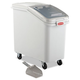 Rubbermaid 360288WHI 26.18 Gal. 15-1/2 in. x 29-1/2 in. x 28 in. ProSave Mobile Ingredient Bin (White)