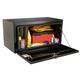 JOBOX 733980 24 in. Long Heavy-Gauge Steel Underbed Truck Box (Black)