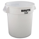 Rubbermaid 2610WHI 10 Gal. Round Brute Container (White)
