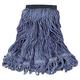 Rubbermaid C152BLU 6-Piece Swinger Loop Medium Cotton/Synthetic Wet Mop Head (Blue)