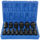Grey Pneumatic 1714U 14-Piece 1/2 in. Drive 12-Point SAE Standard Universal Impact Socket Set