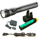 Streamlight 75434 Stinger LED HL Rechargeable Flashlight with Charger and PiggyBack (Black)
