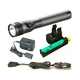 Streamlight 75458 Stinger DS LED HL Rechargeable Flashlight with Charger and PiggyBack (Black)
