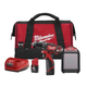 Milwaukee 2407-22B M12 12V Cordless Lithium-Ion 3/8 in. Drill/Driver with Jobsite Speaker