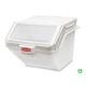 Rubbermaid FG9G5800WHT 19-1/5 in. x 23-1/2 in. x 16-7/8 in. ProSave Shelf Ingredient Bin (White)