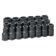 Grey Pneumatic 9021D 21-Piece 1 in. Drive 6-Point SAE Deep Impact Socket Set