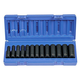 Grey Pneumatic 1203MD 13-Piece 3/8 in. Drive 12-Point Deep Metric Impact Socket Set