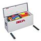 Delta 810000 32-5/8 in. Long Steel Portable Lock-Down Hopper Utility Chest