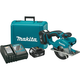 Makita XSC01MB LXT 18V 4.0 Ah Cordless Lithium-Ion 5-3/8 in. Metal Cutting Saw Kit