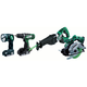 Hitachi KC18DBLS 18V Cordless Lithium-Ion 4-Piece Combination Tool Kit