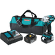 Makita XWT02MB LXT 18V 4.0 Ah Cordless Lithium-Ion Brushless 3-Speed 1/2 in. Impact Wrench Kit