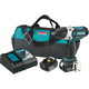 Makita XWT04MB LXT 18V 4.0 Ah Cordless Lithium-Ion High Torque 1/2 in. Square Drive Impact Wrench Kit