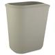 Rubbermaid 2541GRA 3.5 Gal. Fire-Resistant Wastebasket (Gray)