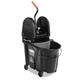 Rubbermaid 1863898 35 Quart Executive WaveBrake Down-Press Mop Bucket (Black)