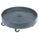 Rubbermaid 2650BLA 500 lb. Capacity Universal Drum Dolly