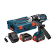 Factory Reconditioned Bosch DDH181X-01L-RT 18V Cordless Lithium-Ion 1/2 in. Brute Tough Drill Driver with Active Response Technology and L-BOXX2