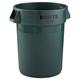 Rubbermaid 2632DGR 32 Gal. Round Brute Container (Dark Green)