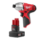Milwaukee 2450-22X M12 12V Cordless Lithium-Ion 1/4 in. Hex Impact Driver with XC High Capacity Battery
