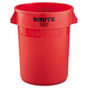 Rubbermaid 2632RED 32 Gal. Round Brute Container (Red)