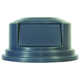 Rubbermaid 265788GY Round Dome Top Receptacle (Gray) for 27-1/4 in. Brute Containers