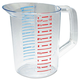 Rubbermaid 3216CLE 32 oz. Bouncer Measuring Cup (Clear)