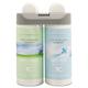 Rubbermaid 3485949 Microburst Gentle Breeze/Linen Fresh Duet Refill (4-Pack)