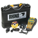 DYMO 1734520 Rhino 6000 Industrial Label Maker Kit, 5 Lines, 13 4/5w x 17 4/5d x 4h